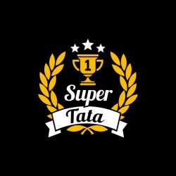 Super Tata - nadruk wzoru