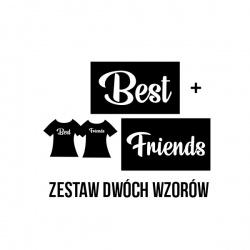 Best  Friends - nadruk wzoru