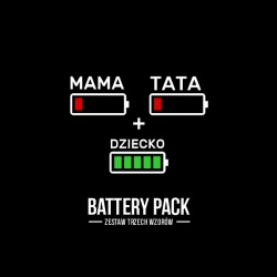 Battery Packa 3 Baterie -...