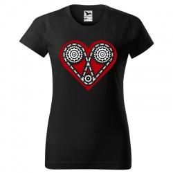 Kocham Rower - koszulka damska