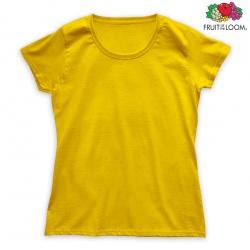 Koszulka Damska FOTL - żółta