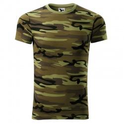 MALFINI - koszulka męska moro
