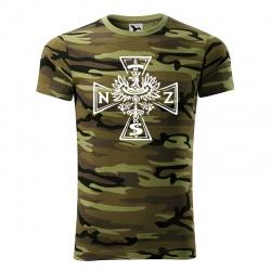 NSZ - koszulka męska moro