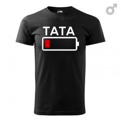 Tata bateria - koszulka męska