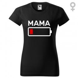 Mama bateria - koszulka damska