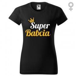 Super Babcia - koszulka damska