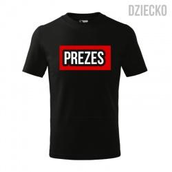 Prezes - koszulka dziecięca