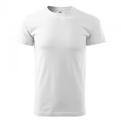 MALFINI - koszulka męska biała