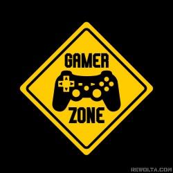 Gamer Zone - nadruk wzoru