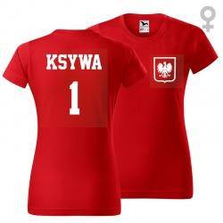 Kibicowska - koszulka damska