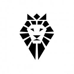 Lew - nadruk wzoru