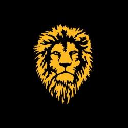 Lion - nadruk wzoru
