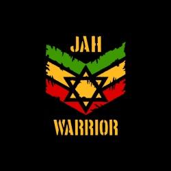 Jah Warrior - nadruk wzoru