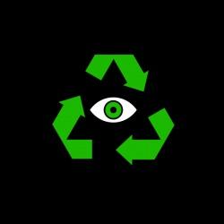 Eko Oko - nadruk wzoru