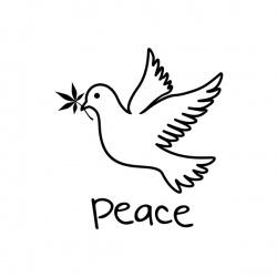 Peace - nadruk wzoru