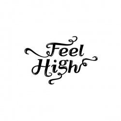 Feel High - nadruk wzoru