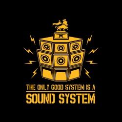 Sound System - nadruk wzoru