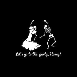 Danse Macabre - nadruk wzoru