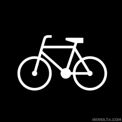 Rower - nadruk wzoru